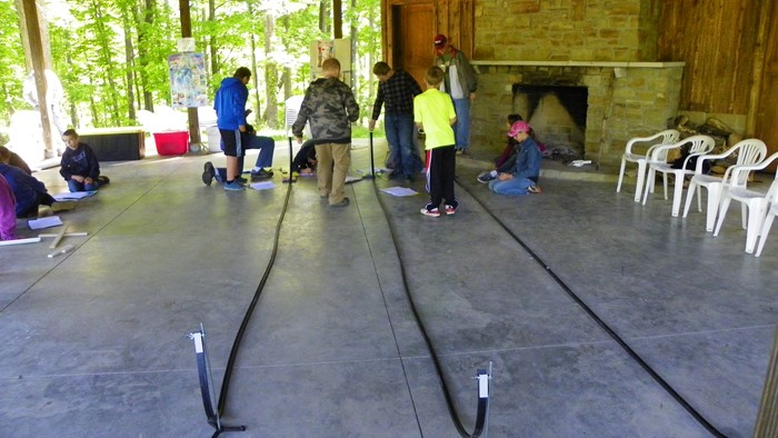 Kinetic and Potential Energy: Campers learn that objects on motion have kinetic energy and objects at rest have potential energy.