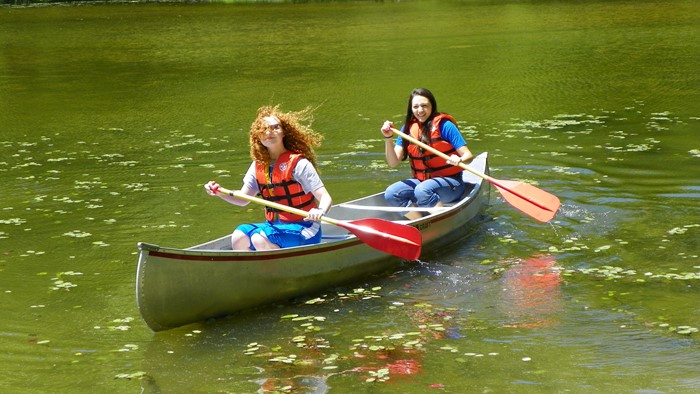 Canoeing for Staff