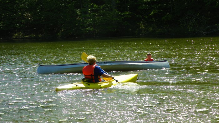 Canoeing  and Water Safety with ICO's Hash and Schreck