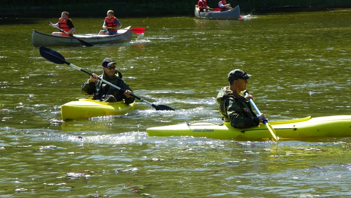 More Canoeing and Water Safety with ICO's Hash and Schreck