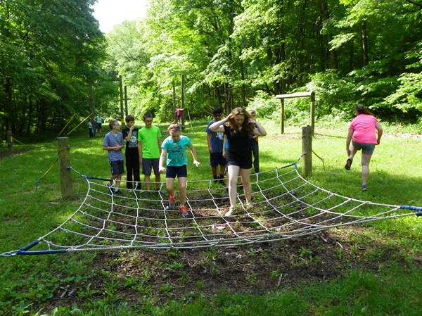 Obstacle Course - Cargo Net