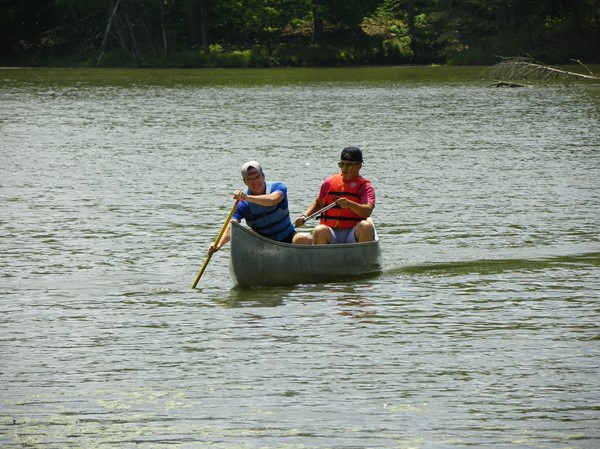 Staff Canoeing