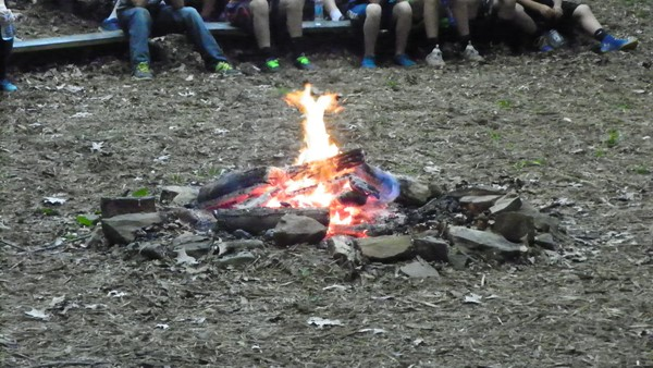 Campfire at Camp Idol