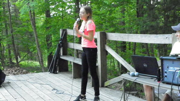 "Camp Idol – Alexia G.  ""Guitar Gently Weeps"""
