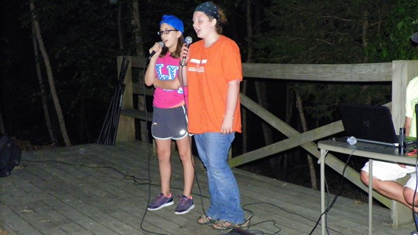 "Camp Idol – Morgan A. and Eliza L. ""Jar of Hearts"""