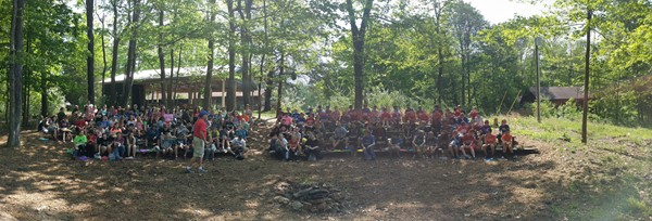 2017 NHMS Outdoor Education Campers