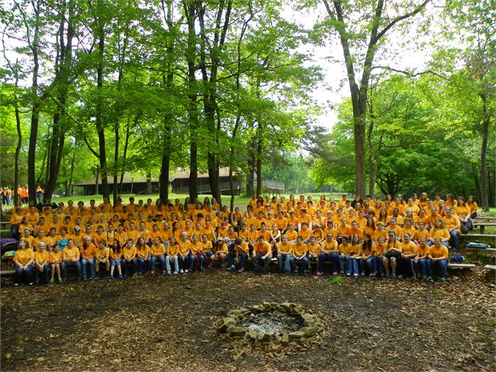 Camper Group Picture