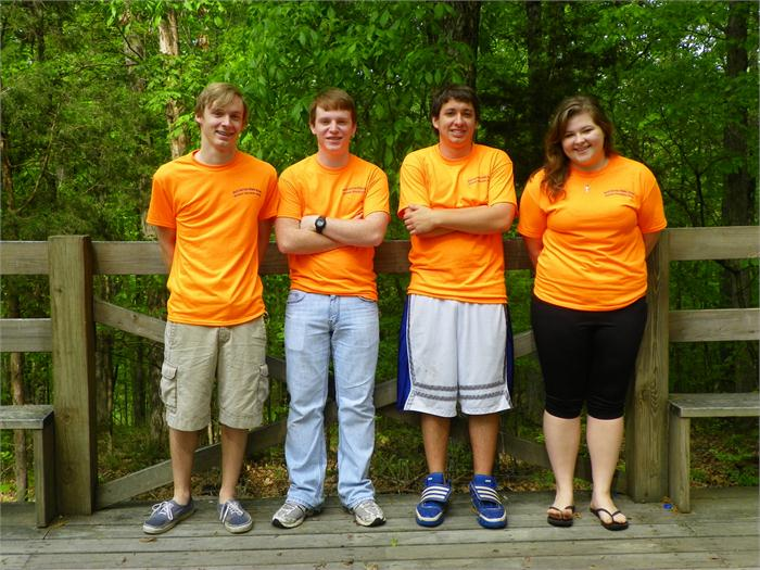 High School Group Picture- Austin, Jerry, Brandon and Brianne