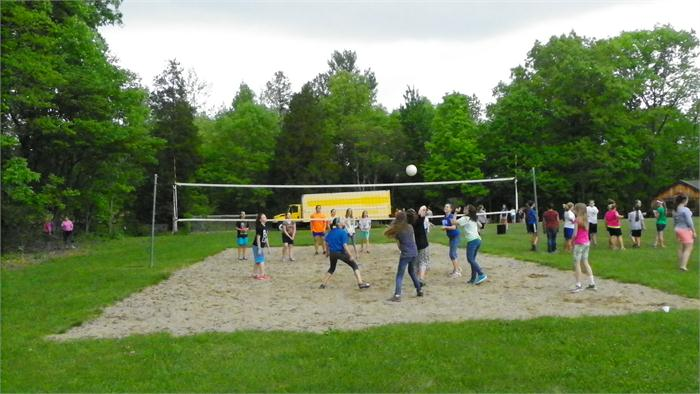 Recess: Volleyball