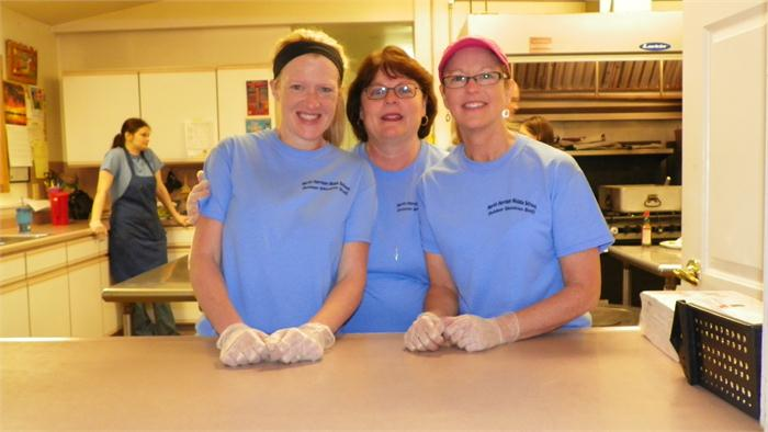 Breakfast: Thank you to our wonderful cooks Annissa, Lorna, and Cindy!