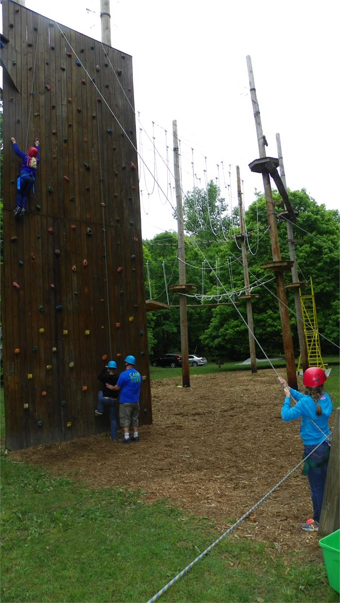 The Climbing Wall - All 40 Feet - Day 2