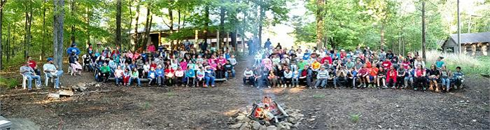 Panoramic Campfire Pictures